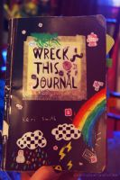 Wreck this Journal by thatcoldmask