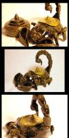 Scorpion Tea Pot by Lascaux
