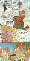 Invincible - 3 pages by Juggertha