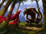 little red riding hood by bhaalzevuv