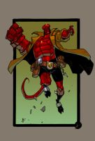 Hellboy for Matteo by redeve