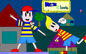Ness and Lucas by RayRamador
