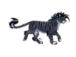 Feline Adoptable CLOSED by KerriAdopties