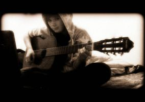 With guitar. by Janikaa
