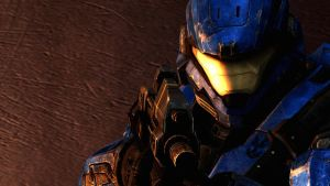 Halo: Reach - Burnished by pizzagrenade