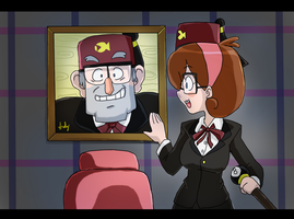 Gravity Falls - As time goes by? by NeoSlashott