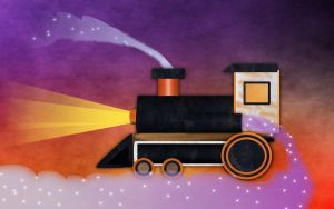 Playground-Steam Train by Golden-Ribbon