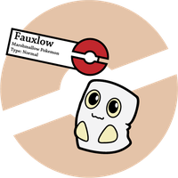 Fake Pokemon: Fauxlow by Sageroot