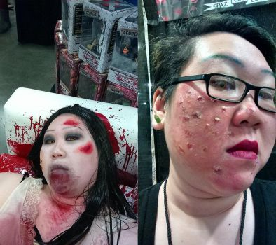 Spaz - Walker Stalker con look by TheSpazOutLoud