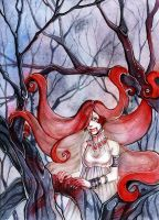 The forest devil by MaryIL