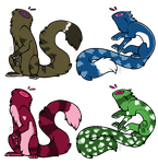 Headless Creature Adopts//OPEN// by SNlCKERS