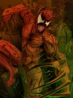 Spider-Man Rouges Gallery - Carnage by KileyBeecher