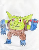 Boomer The bomb Troll hero by trexking45