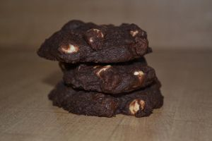 Triple Chocolate Cookies by Lily-Gangsta