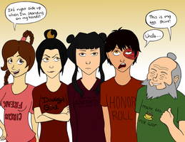 Fire Nation T-shirts by NelmaThyria