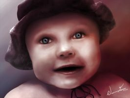 Innocent - Portrait of a child by bm