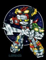 Lil' Voltron by lordmesa