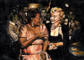 Fitzgerald and Monroe by velaine