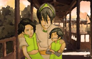 Beifong Family Portrait by PentaghastRogue