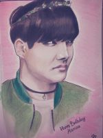 J-Hope - Coloured sketch by ImmortalBerry