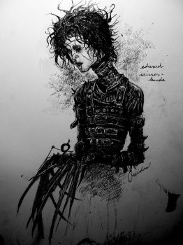 edward scissorhands by oreides
