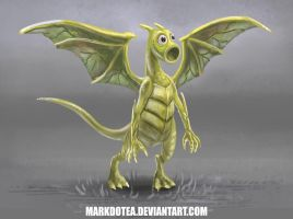 Charizard meets WeepinBell by Markdotea