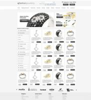 Fashion Jewelly Web Design by vasiligfx
