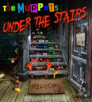 The Muppets under the stairs by funkwood