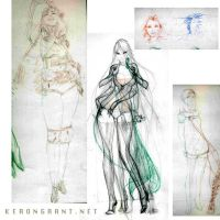 Sketches 2 by Kerong