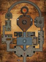 Dungeon within a Dungeon with Grid by Bogie-DJ
