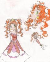 Princess Ginger redesign by LilacPhoenix