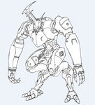 StagHorn Battle Mech by Angryspacecrab