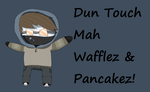 Cutie Pastas Dun Touch Ticci Toby Wallpaper by FlashwingDragoness