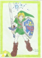 Link - Ocarina of Time by dessa86