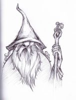 Gandalf the grey by VforVinegrette