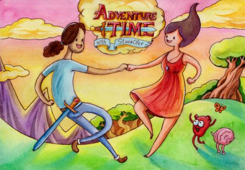 Adventure Time with Ofer and Stav by TrollGirl