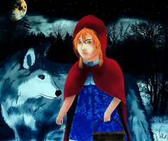 Lil' Red Riding Hood by 8i-Emmz-i8