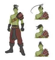 Orc Colour Test by Obhan