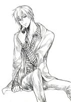 Kise-kun sketch by scarlet-xx