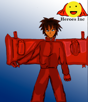 Heroes Inc suit Turbo mode by fighterxaos