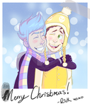 Merry Christmas M-Morty! by StupidSiren