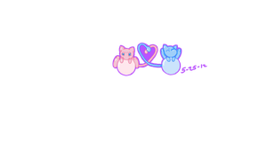 Mew Heart by CollectionOfWhiskers