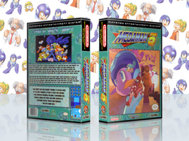MegaMan 5 Complete Works Cover by TuxedoMoroboshi