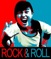 Rock And Roll Poster by cinerosimo