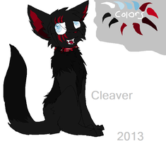 Cleaver dog transformation ref by amiirou
