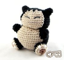 Snorlax - Pokemon by mengymenagerie