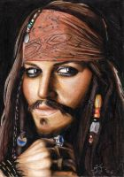 Cpt Jack Sparrow by chaeitee