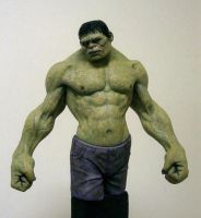 The Incredible Hulk by schellstudio
