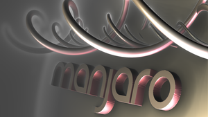 manjaro in the DNA ws wp by fraterchaos