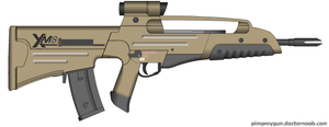Bullpup XM8 by Robbe25